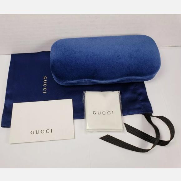 Gucci sunglass case set